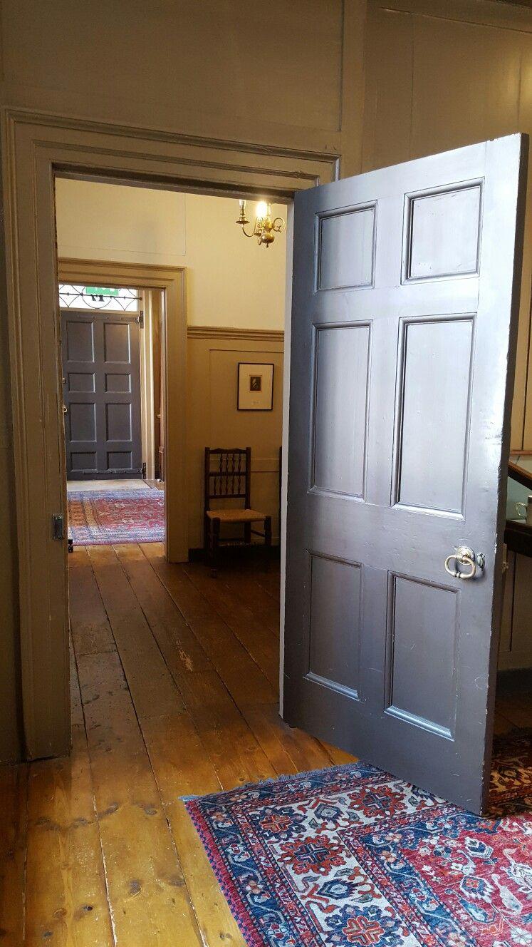 Interior Of Late 18th Century Georgian Townhouse Former Home Dr Samuel Johnson