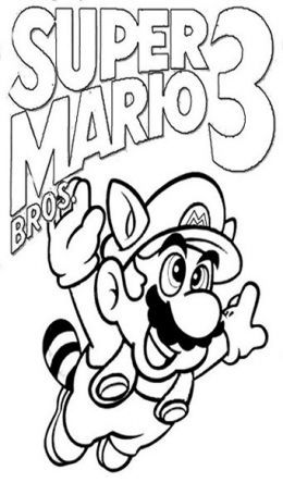 New Super Mario Bros Kids Coloring Pages Free Colouring Pictures