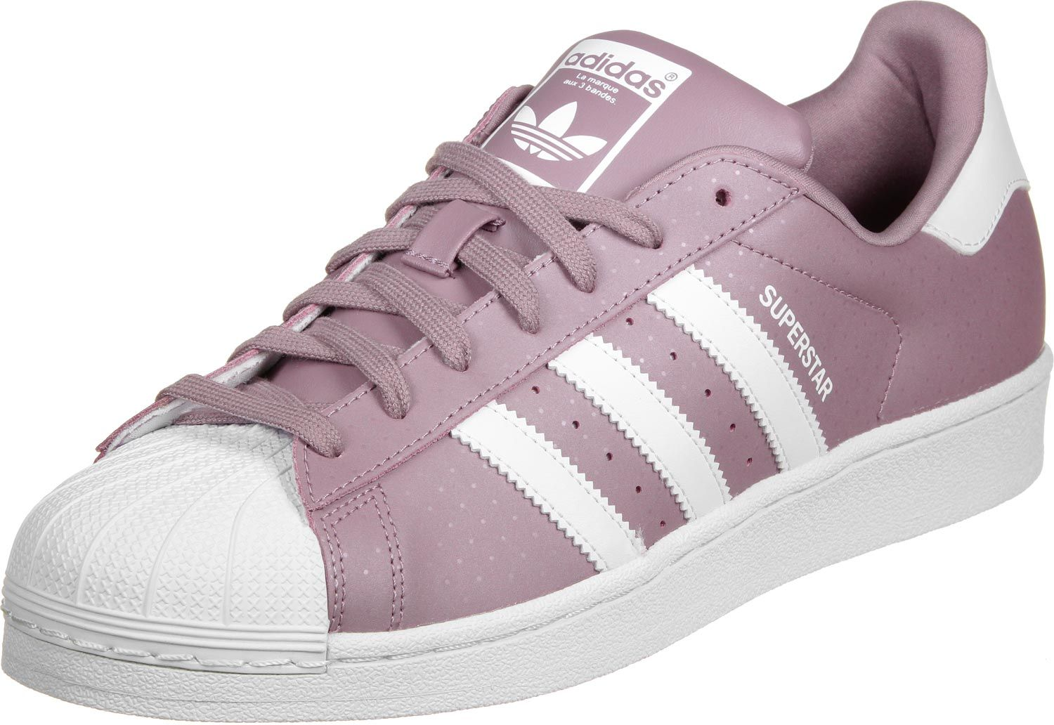 superstar adidas lila