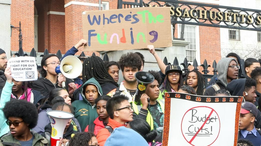 How A Group Of Boston Teenagers Organized A Massive District Wide Protest Teenager Protest In Boston