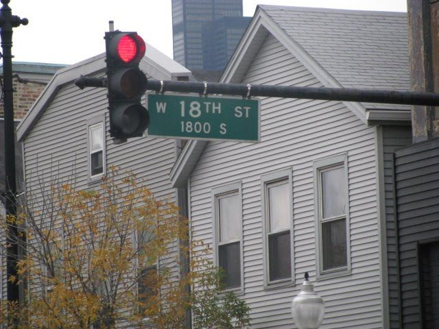 Street Sign Chicago Street Pilsen My Kind Of Town
