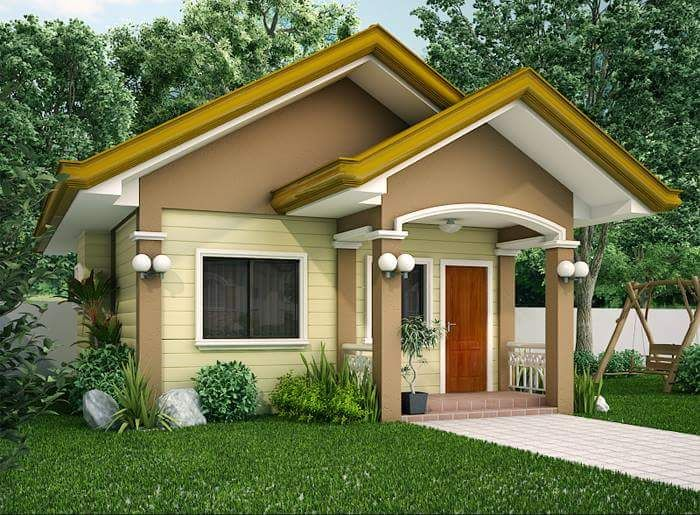 In Photos Ofw Built His P400k Dream House A Small And Yet Beautiful House Beautiful Small Homes Bungalow House Design Simple House Design