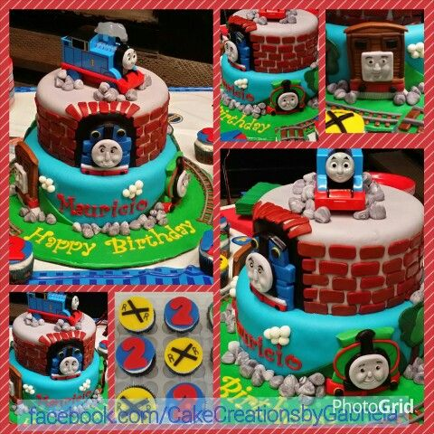 Thomas the Train Birthday Cake by Cakes by Gabriela of ...