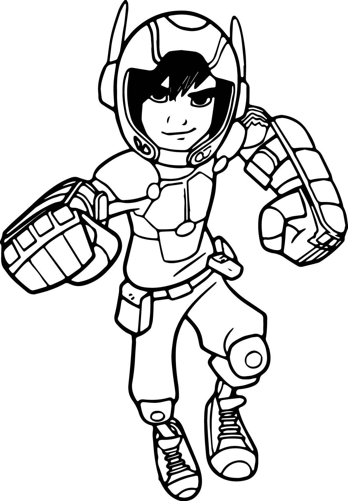 12+ Disney big hero 6 coloring pages ideas in 2021