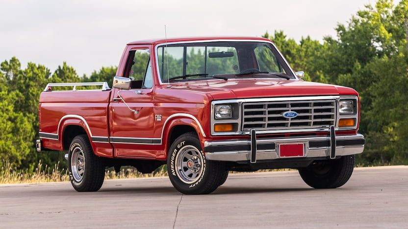 1986 Ford F150 Pickup T132 Dallas 2019 In 2020 Ford F150