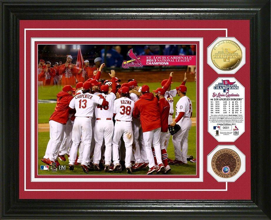 AAA Sports Memorabilia LLC St. Louis Cardinals 2013 NL