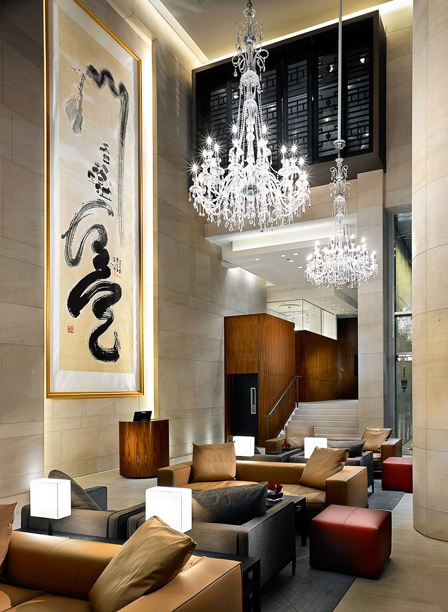 Shangri La Hotel Vancouver Designed By James Cheng Interior Designer CHIL Design Group