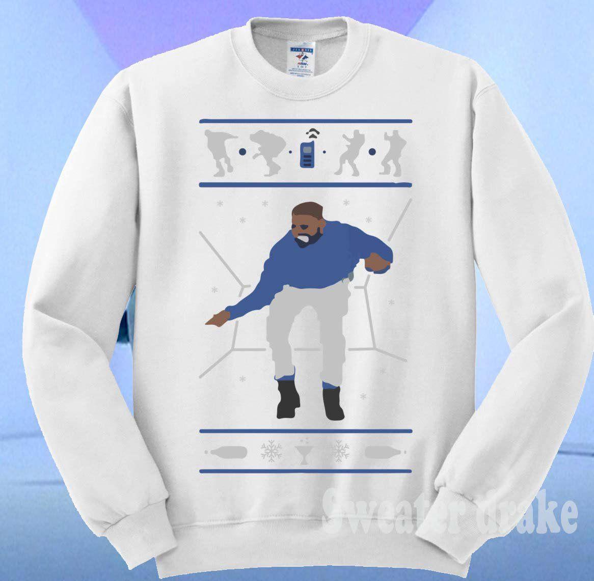 1-800 Hotline Bling ugly Drake Christmas Sweater UNISEX size ...