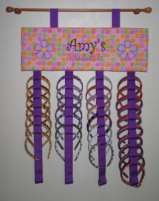 Diy Headband Holder And Possibly A Bow Holder Too Bows