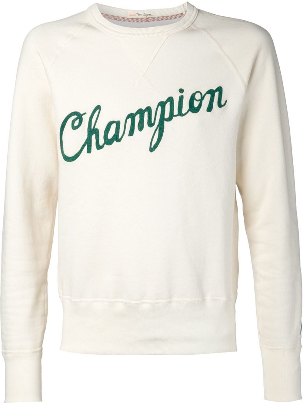Champion Todd Snyder X Champion Embroidered Logo Sweatshirt - The Webster - Farfetch.com