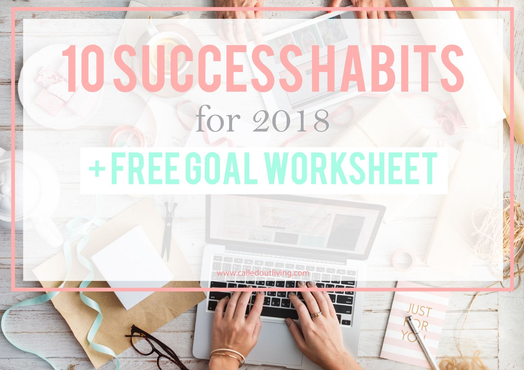 10 Success Habits For Free Goal Planner