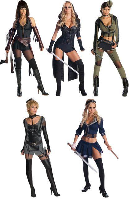 7dc347f69 Halloween 2015, Halloween Cosplay, Halloween Makeup, Halloween Costumes,  Sucker Punch Costume,