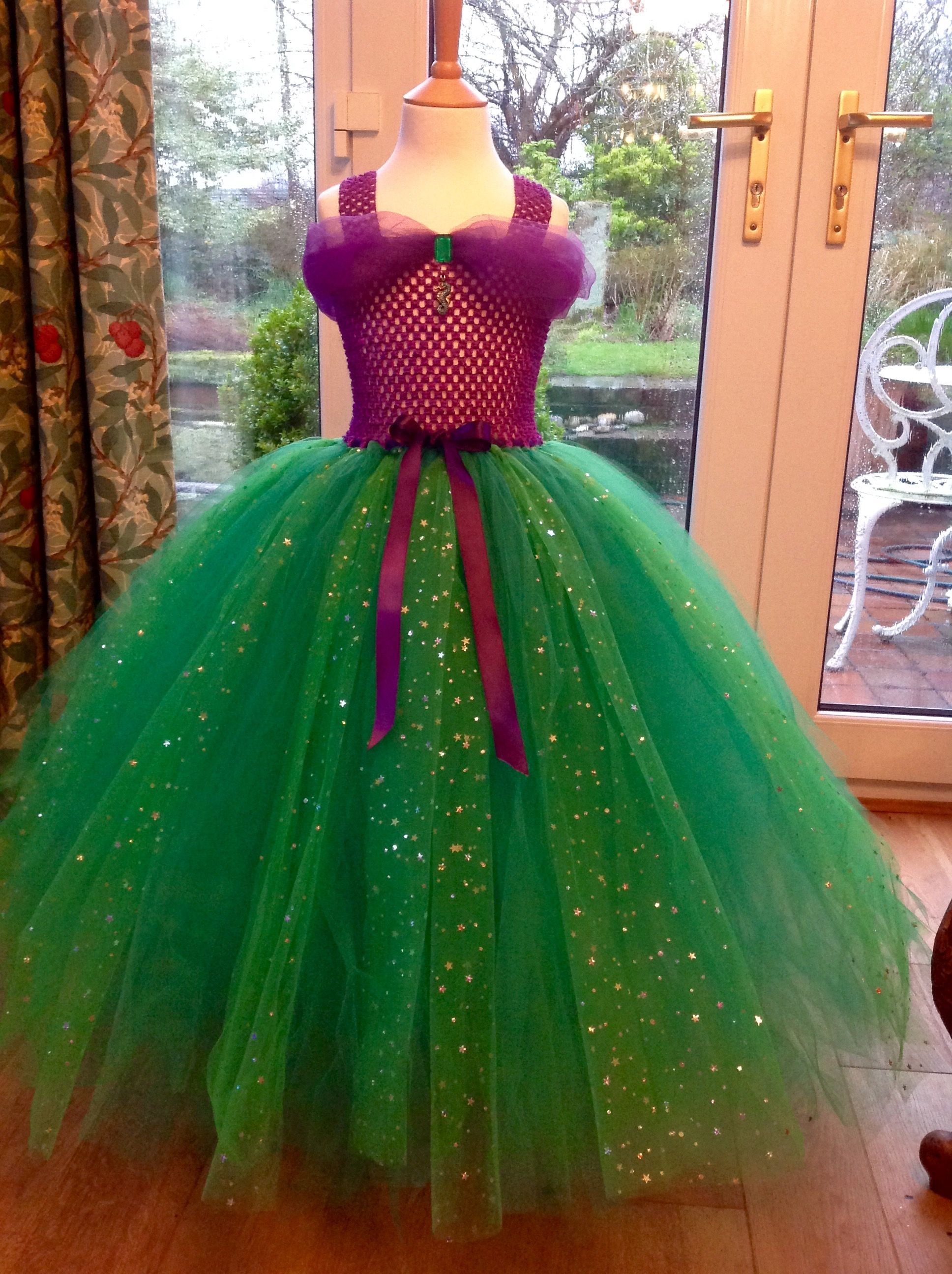 Princess Ariel Inspired Tutu Dress Ready For A Trip To The