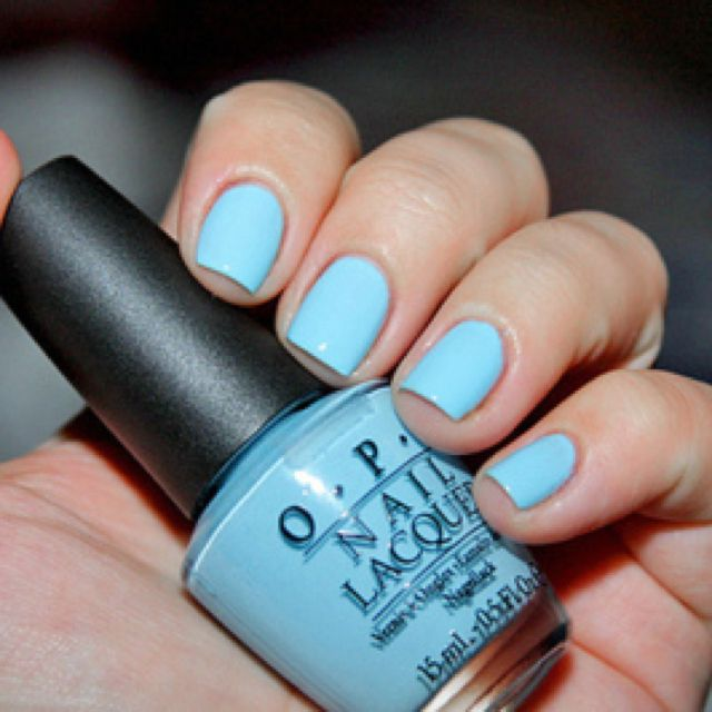 o.p.i #nail polish #blue | O.P.I nails | Pinterest | OPI, Opi nails ...