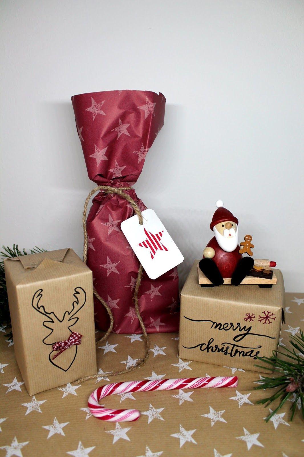 DIY tolle Verpackungsidee: Geschenke schön, individuell und ...