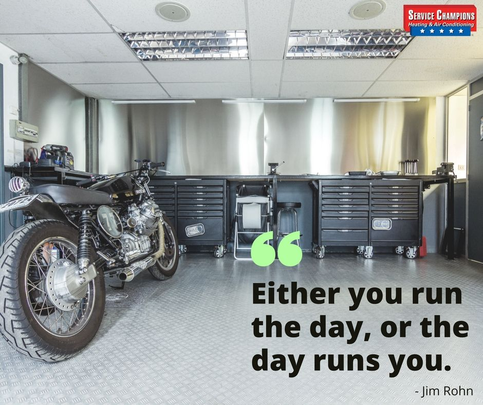 """""""Either you run the day, or the day runs you."""" Jim Rohn"""