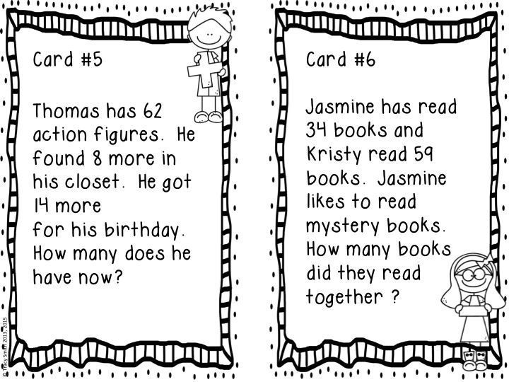 Common Core Gr. 2 Word Problems Multi-Step Addition