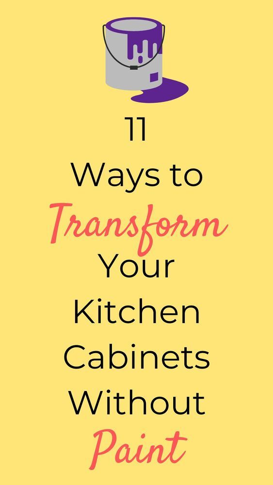 Update your kitchen on a budget with these 11 easy and quick ideas you can do on a budget. Check out these DIY kitchen upgrades you can do for cheap. #hometalk