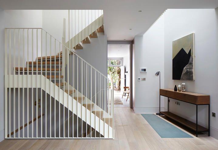Scala in legno interna a giorno ristrutturazione casa londra ingresso st irs pinterest - Ristrutturazione interna casa ...