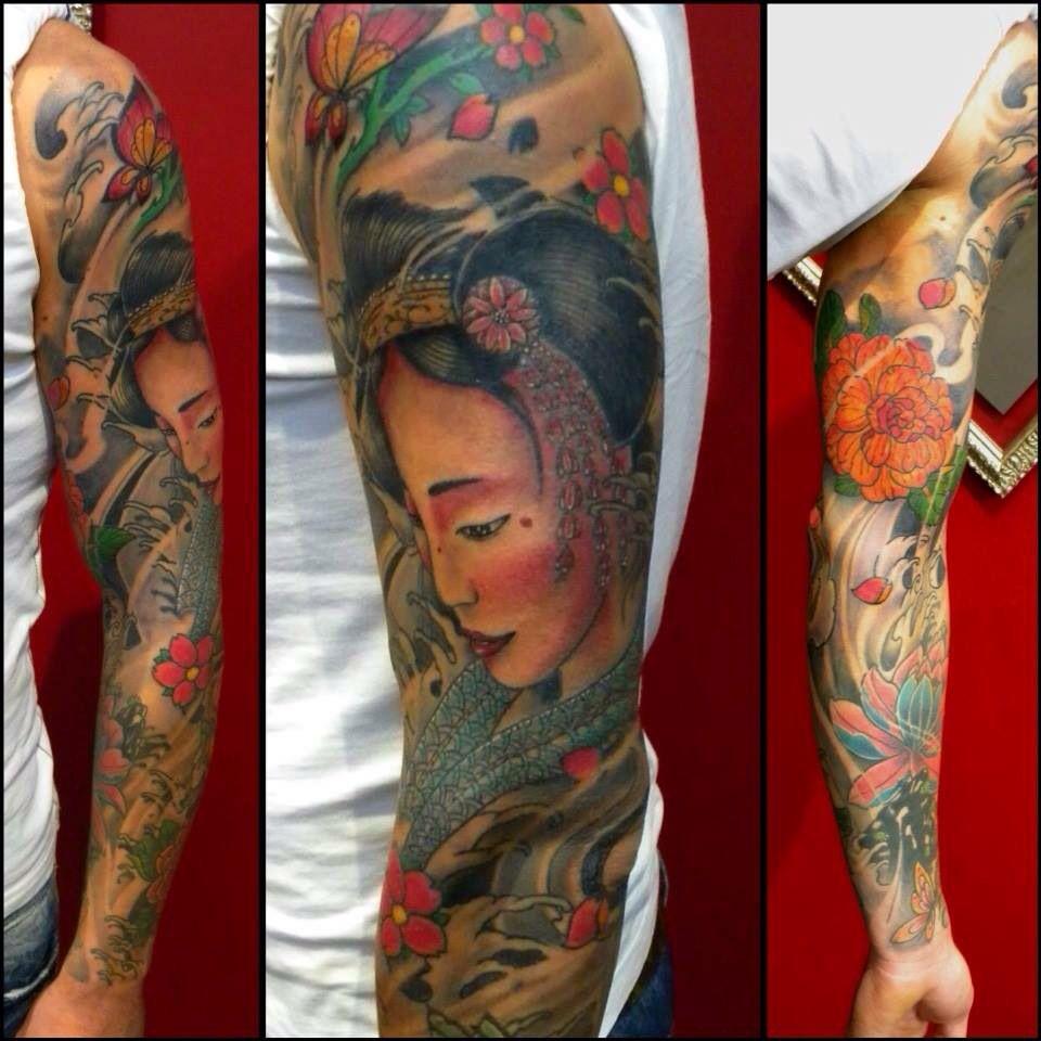 Japanese tattoo Instagram @jonatattoo Fb page @jona tattoo art