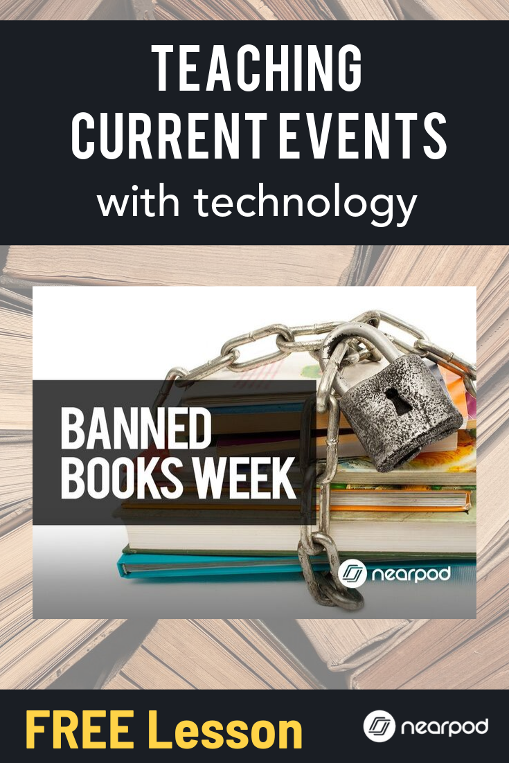 Celebrate Banned Books Week For The 2019 School Year By Reflecting With Readers The Importance Of Opportunity And Freedo Banned Books Week Banned Books Nearpod