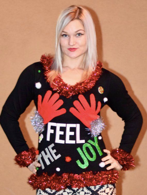 Ugly Christmas Sweaters Pinterest.Ugly Christmas Sweater For Women Ugly Christmas Sweater