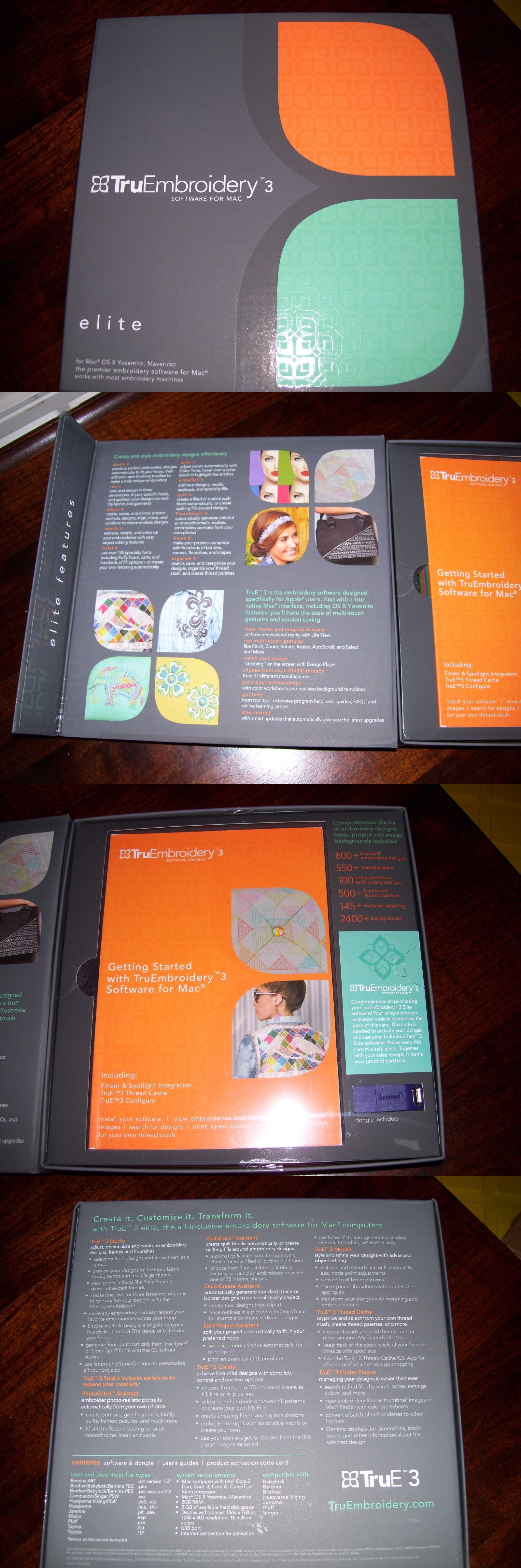 Digitizing Software 71197 Truembroidery 3 Software For Mac Elite