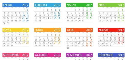 Calendario 2017 | importante | Pinterest | Calendario 2017 ...