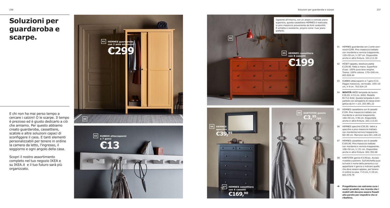 Catalogo Armadi Ikea 2019 Ante Scorrevoli.Soluzioni Per Guardaroba E Scarpe Catalogo 2019 Ikea Guardaroba