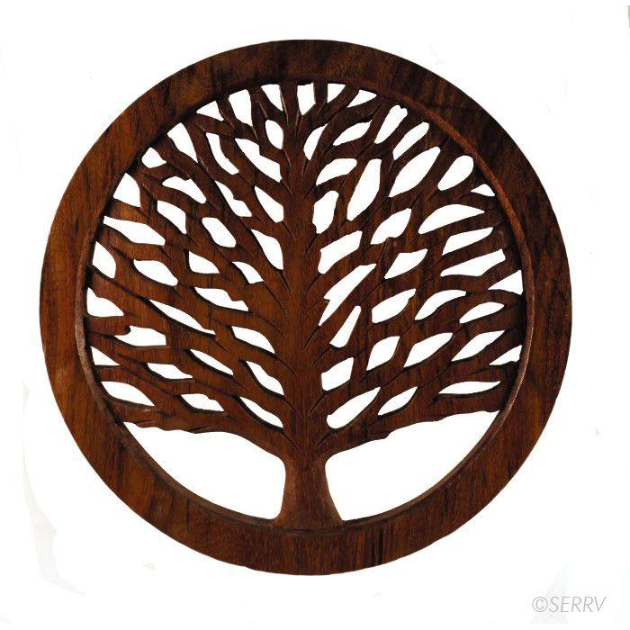 Tree Of Life Shesham Trivet Tree Of Life Wood Tree Trivet