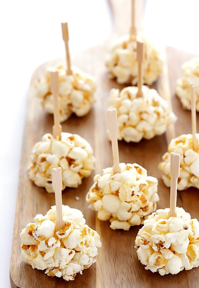 These Naturally Sweetened Honey Popcorn Balls are the perfect healthy snack or dessert.