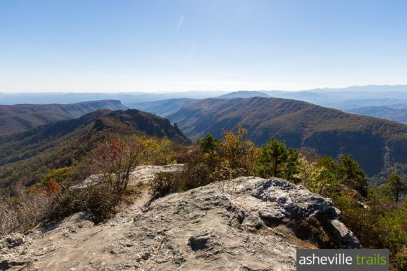 Table Rock Mountain Trail at Linville Gorge