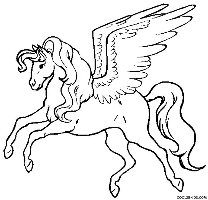 Printable Pegasus Coloring Pages For Kids Cool2bkids Unicorn Coloring Pages Horse Coloring Pages Fall Coloring Pages
