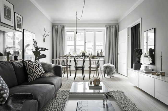▷ 1001 + Ideas de decoración de interiores en estilo nórdico ...
