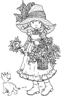 Holly Hobbie Coloring Pages Google Search Sarah Kay Coloring Pages Cute Coloring Pages