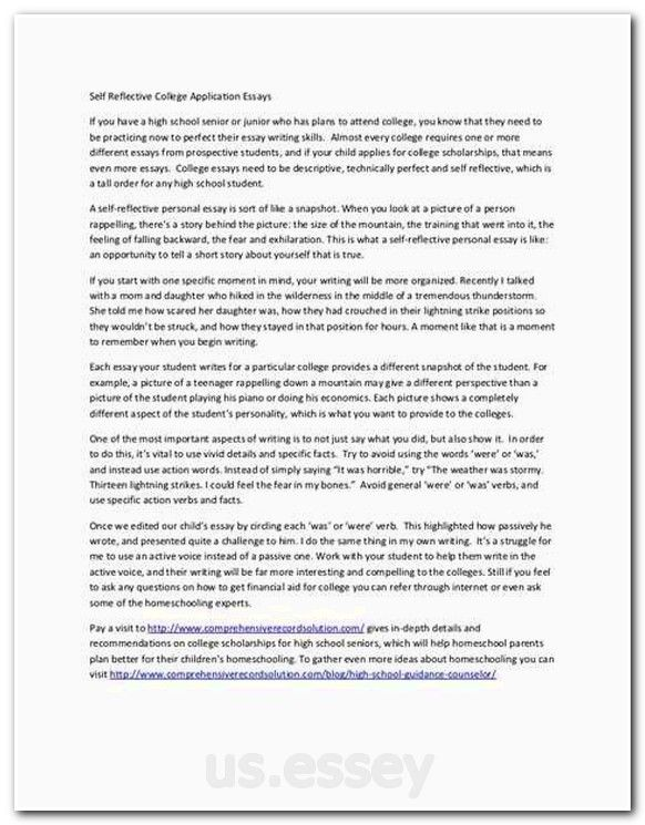 Format Of Paragraph Writing Leadership Skills Essay Sample How To Make A Scholarship Applicat Self Reflection Essay Scholarship Essay Examples Essay Examples