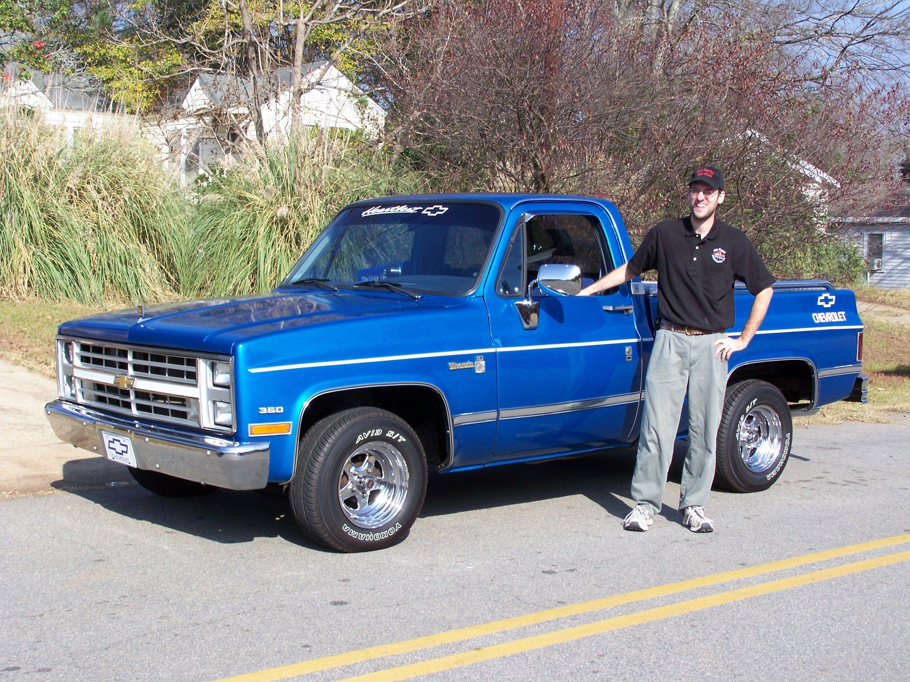 blue Chevy truck | Trucks | Pinterest | Chevrolet, Vintage trucks ...
