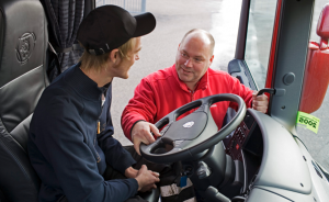 Enlisting the Aid of Professional Drivers to Improve
