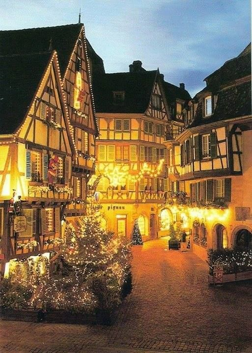 Christmas in Colmar, France / Europe