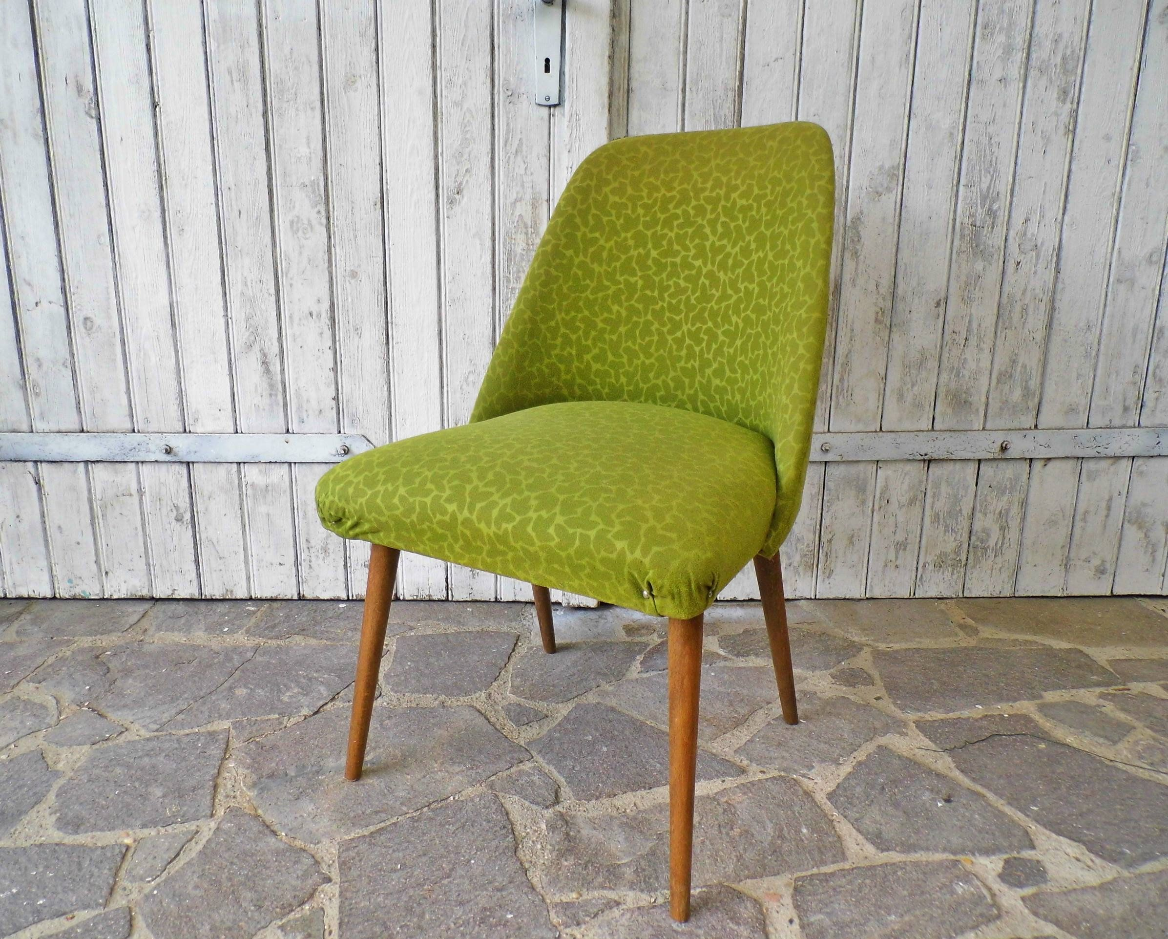 Cocktailsessel 50er Accent Chair Lounge Chair Club Chair Mid Century In