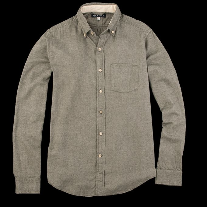 1f1969212f64 UNIONMADE - Alex Mill - Sycamore Spade Pocket Shirt in Olive ...
