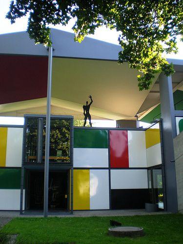 Pavillon du0027exposition ZHLC (Maison de lu0027Homme), Zurich, Suisse, 1963