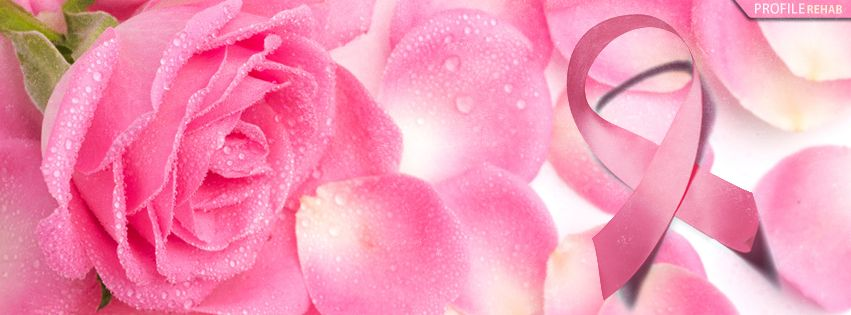 Breast Cancer Awareness Ribbon Facebook Cover