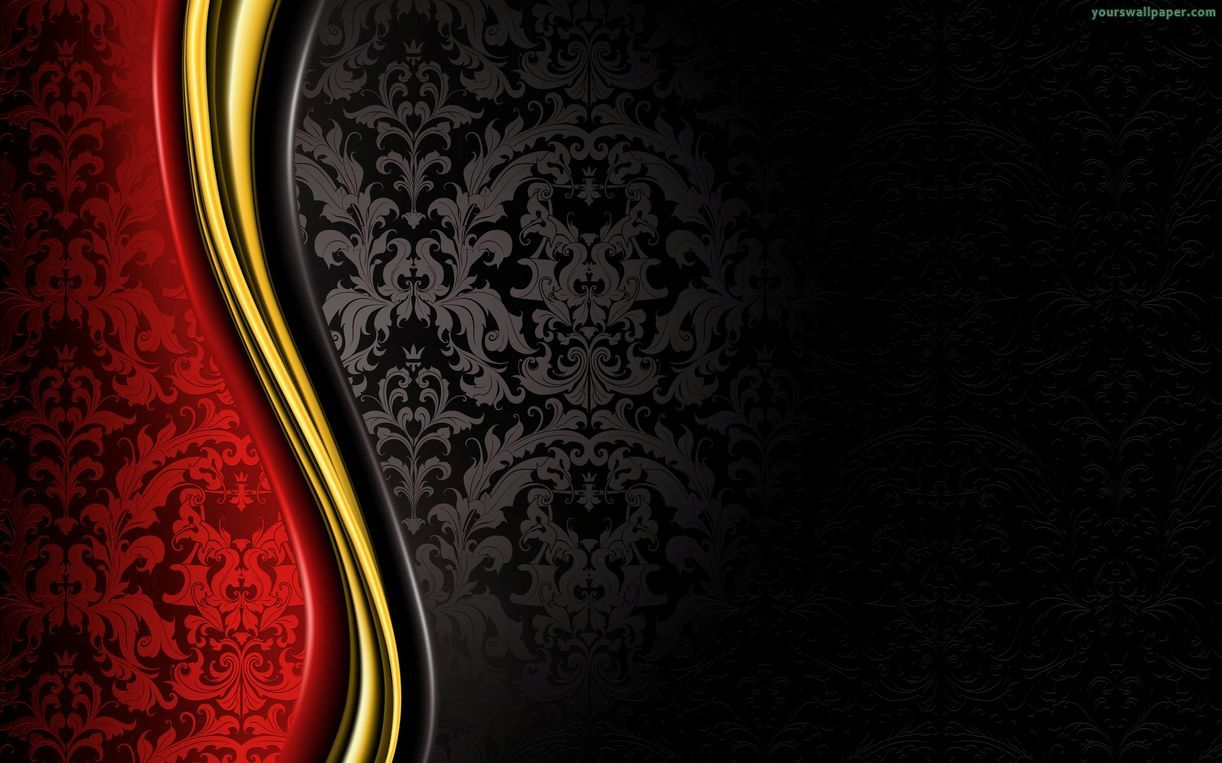 Black Wall Paper Decor : Red and black designs cool background