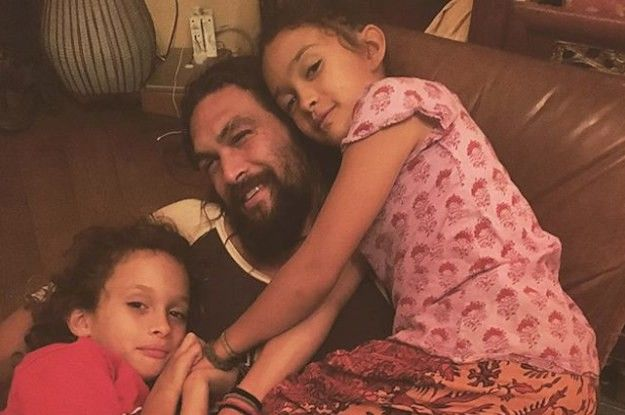 """Jason Momoa Says Becoming A Father Made Him """"Love Himself More"""""""