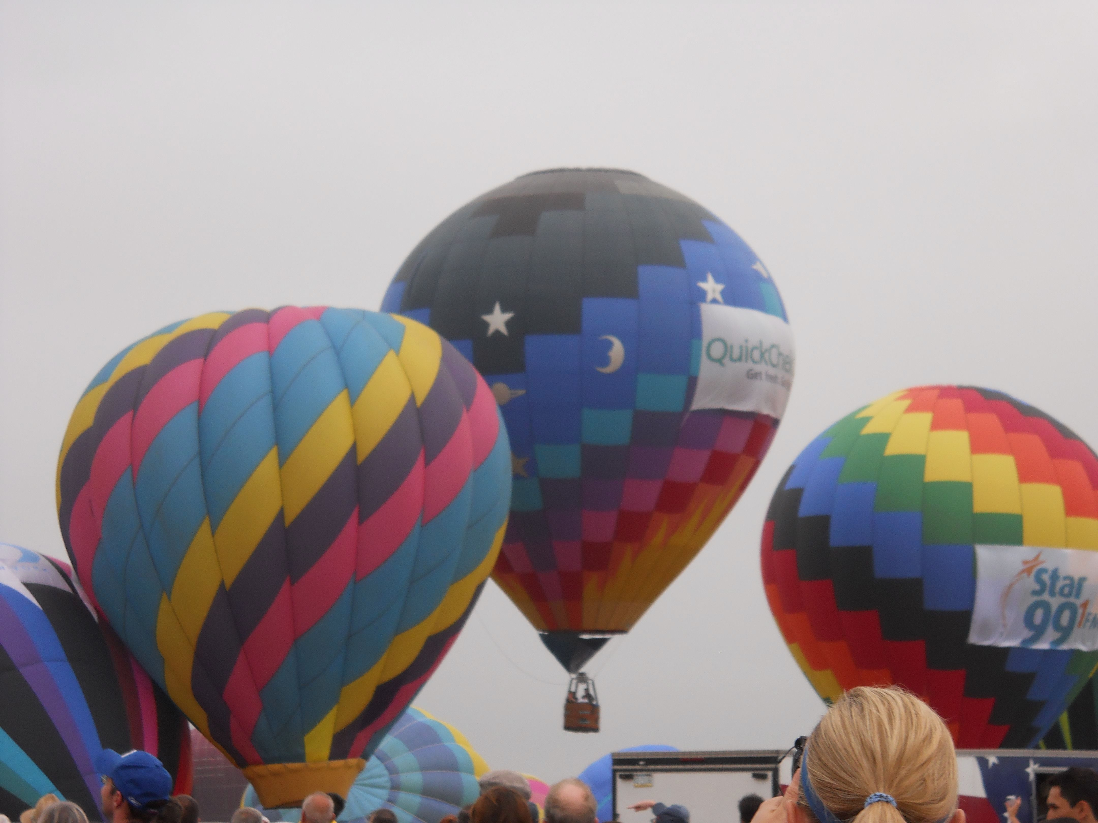 Hot Air Balloon Festival, Readington, NJ — at Solberg
