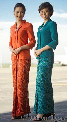 Airline Flight Attendant Fashion Flight Attendant Uniform Flight Attendant