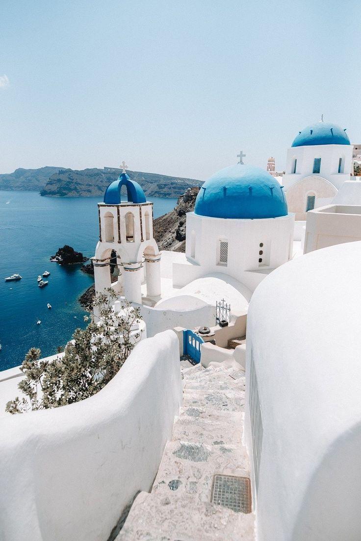 Griekenland Reisfoto S Mooie Plaatsen Urlaub Reisen Gunstig Urlaub Buchen Santorini Griechenland Santorini Schone Orte