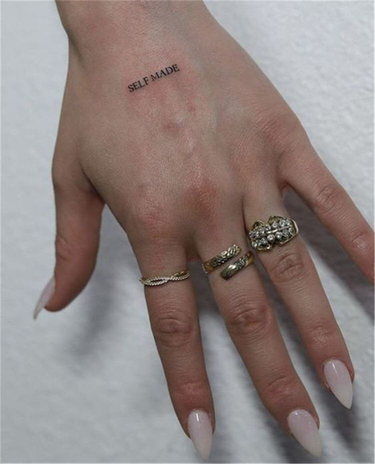 45 Small But Meaningful Words And Quotes Tattoo Designs You Would Love - Women Fashion Lifestyle Blog Shinecoco.com