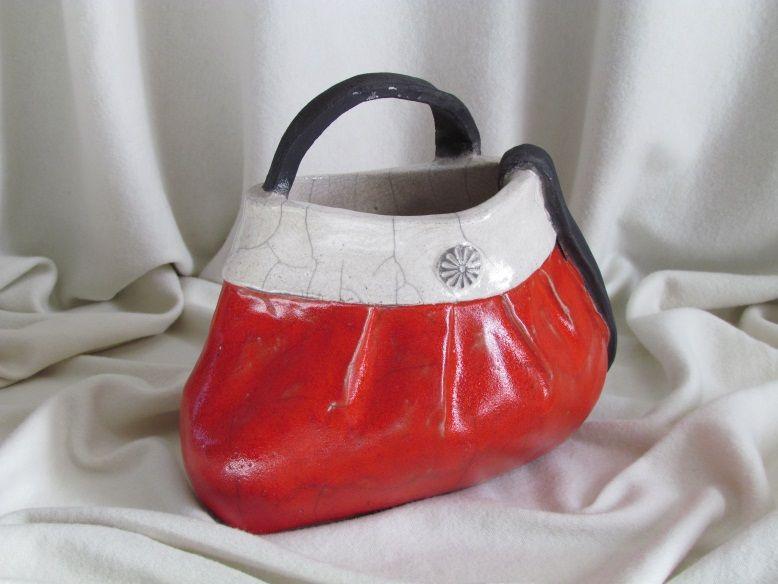 suclpture raku sac main c ramique gr s dani le meyer sac en ceramique pinterest raku. Black Bedroom Furniture Sets. Home Design Ideas